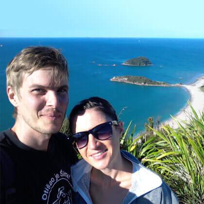 Lepa mami na Novi Zelandiji