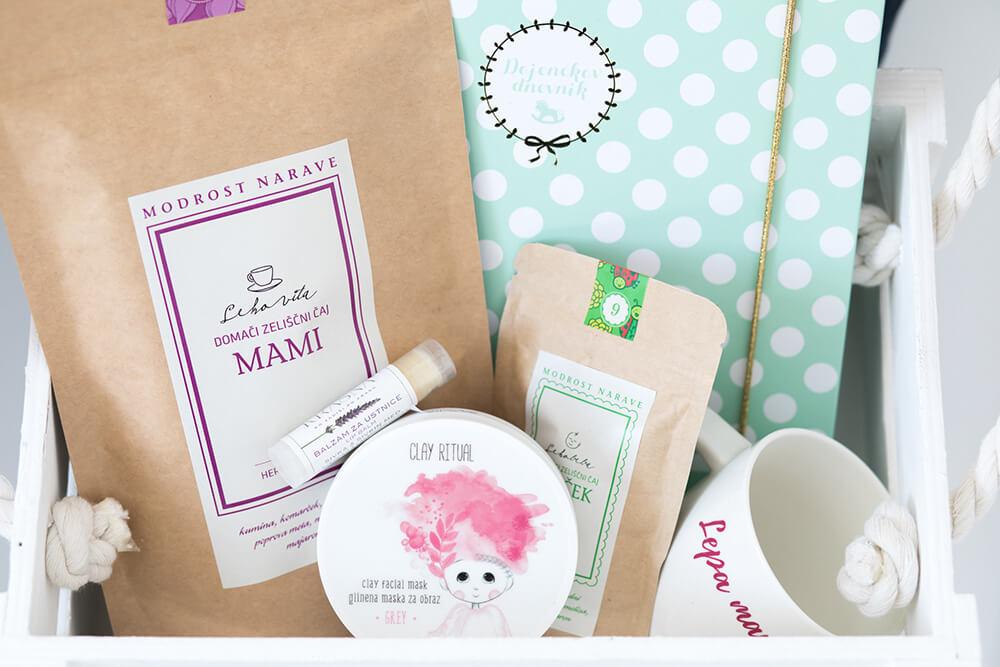 Darilni paket za mlado mamico