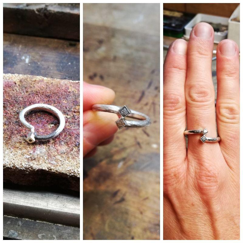 Izdelava nakita - prstan