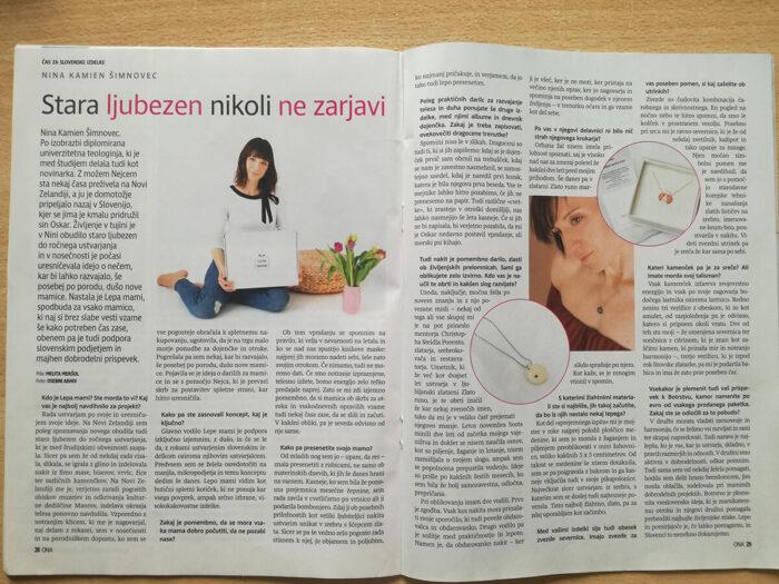Lepa mami v reviji Ona